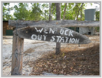 Chuulangun was called 'Wenlock Outstation' in the early days