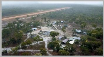 Chuulangun community from the air